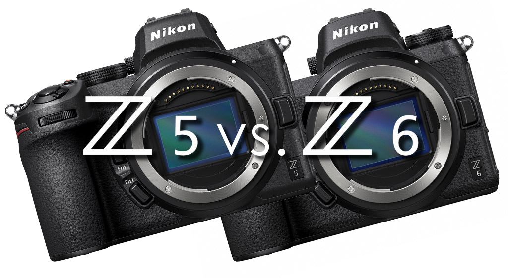 Die Nikon Z 5 im Vergleich zur Nikon Z 6
